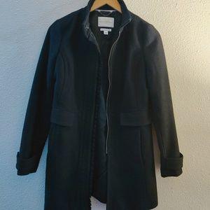 Banana Republic black coat jacket